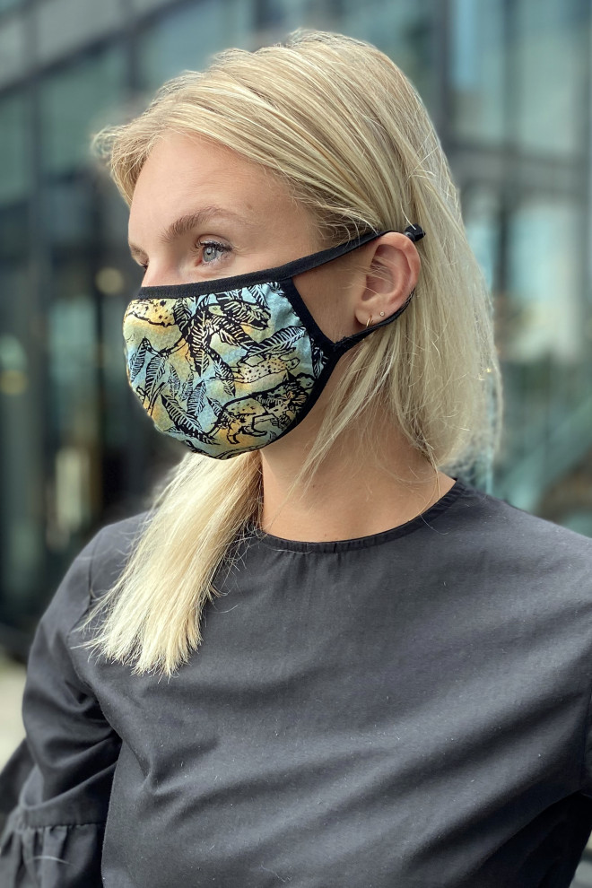 Facemask Blue