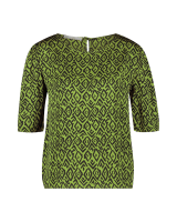 Shynelle Graphic Top Apple Green