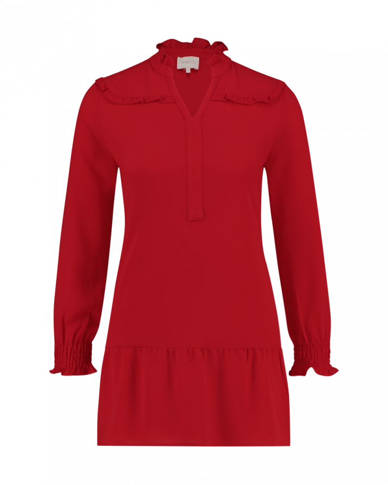 Belicia dress red