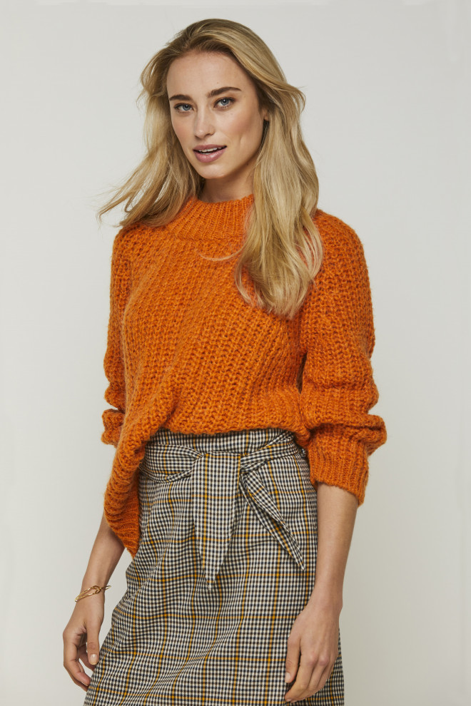 Milly Sweater Orange