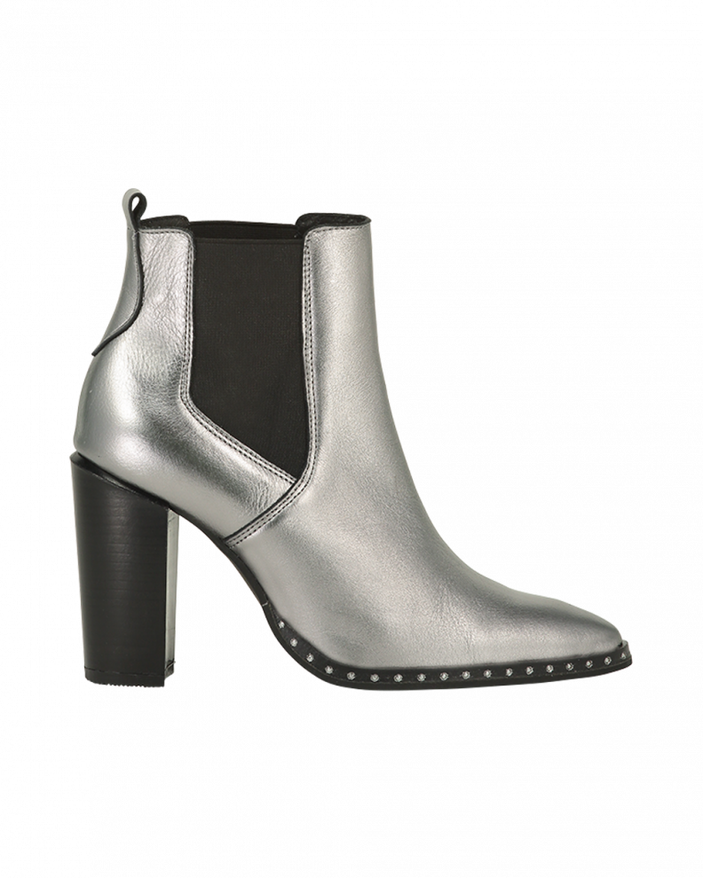 Bowie Boots Silver