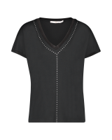 Faith Top Black