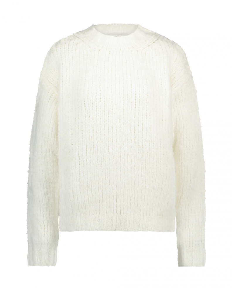 White Wool Sweater Trilly
