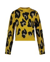 Verona Animal Sweater Yellow