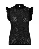 Floria lace top black