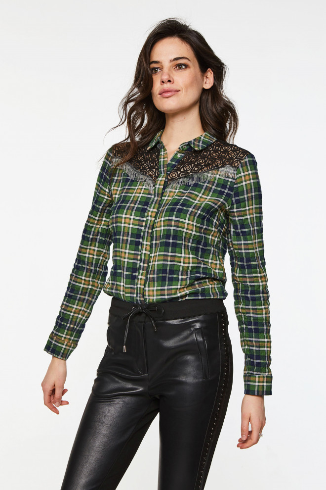 Cecily Blouse Green