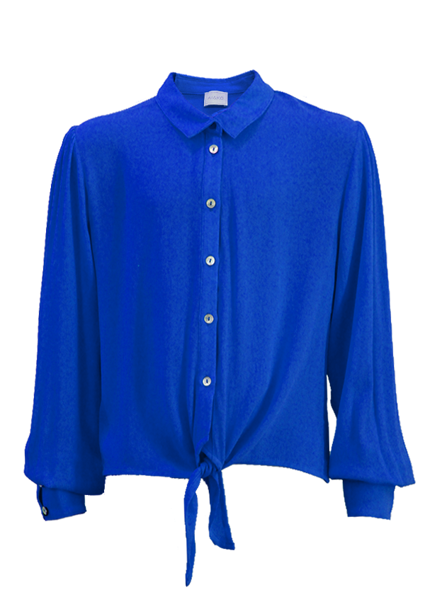 Rayas blouse blue