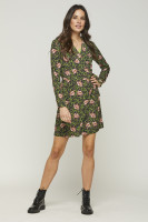 Fay Flower Dress Green