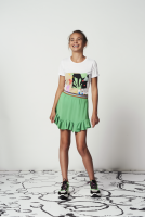 Aimee bubble skirt green
