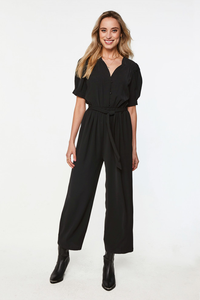 Shivani Jumpsuit Black