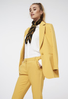 Parien Buttons Trousers Yellow