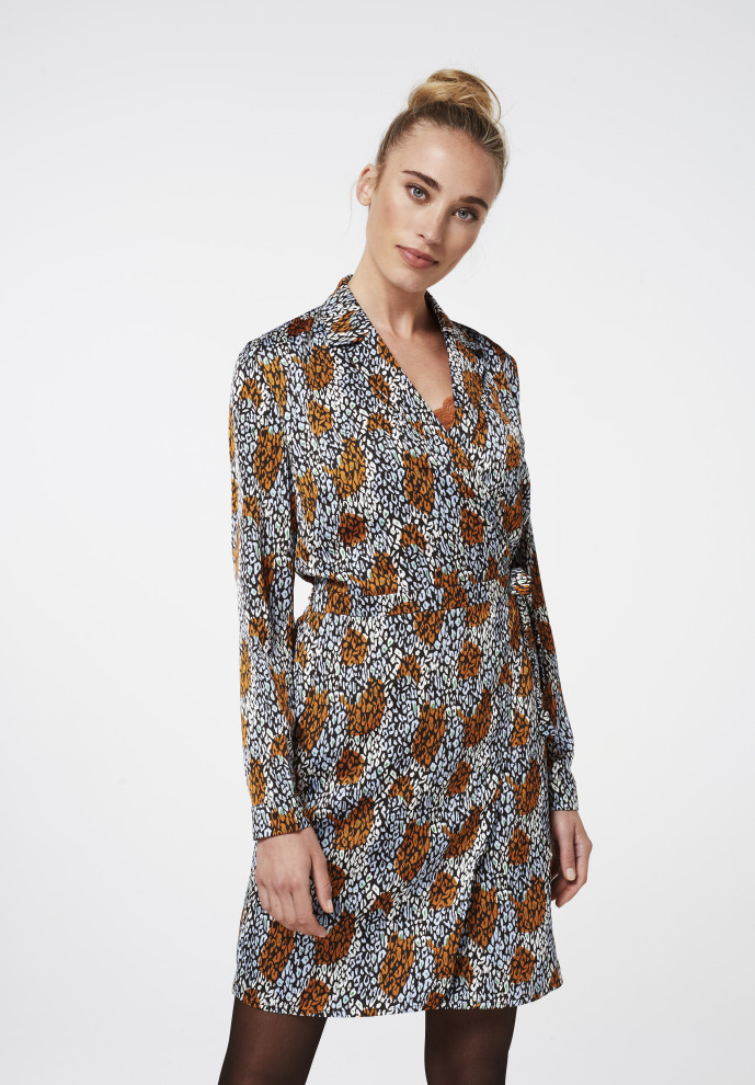 Fay camo dress ginger