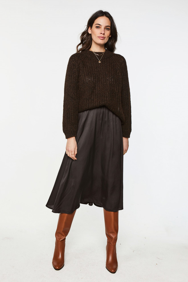 Milly Sweater Brown