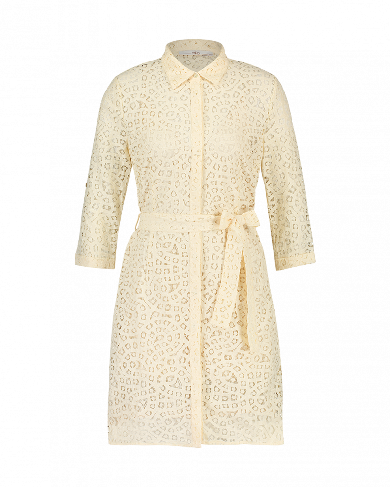 Aima lace dress creme