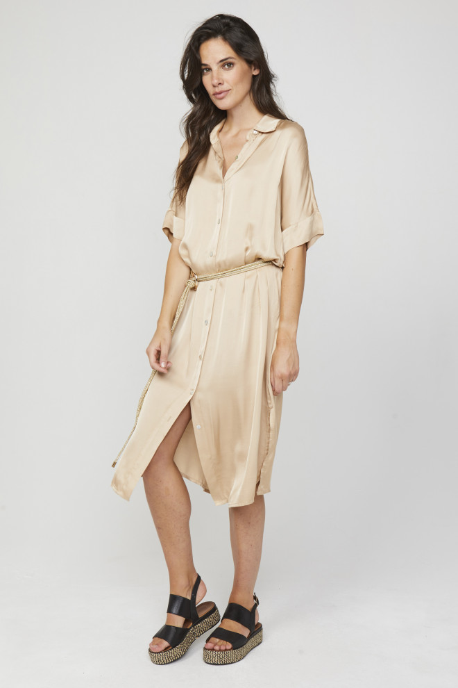 Sienne Dress Beige