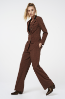 Calida Checkered Trousers Brown
