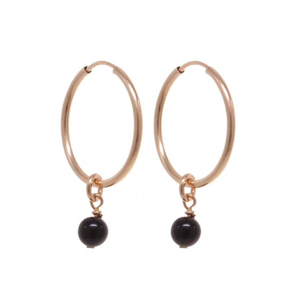 Sleek Sister Black Earrings