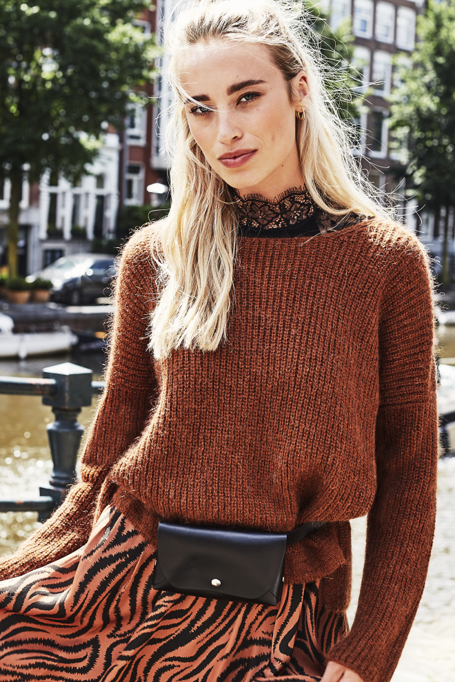 Palermo sweater brown