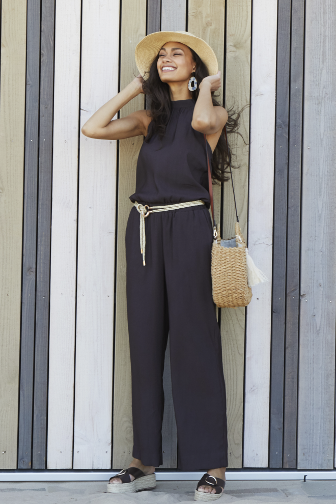 Talita Jumpsuit Brown