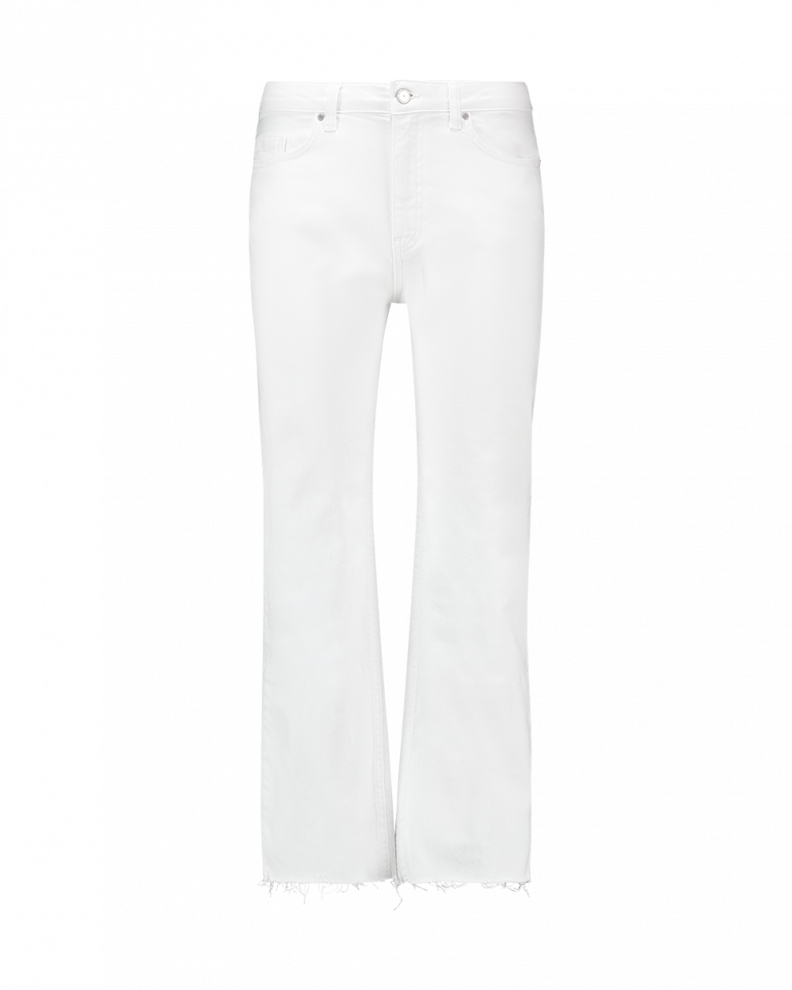 Ceyda Jeans White