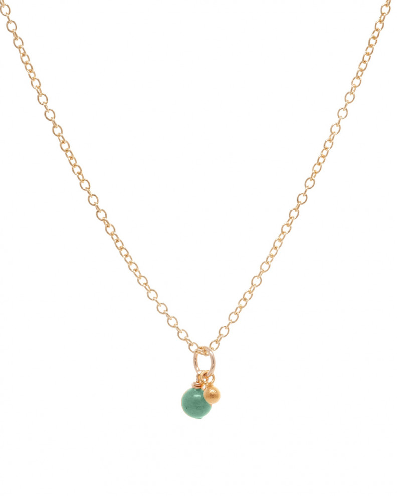 Scent of Love Green Necklace