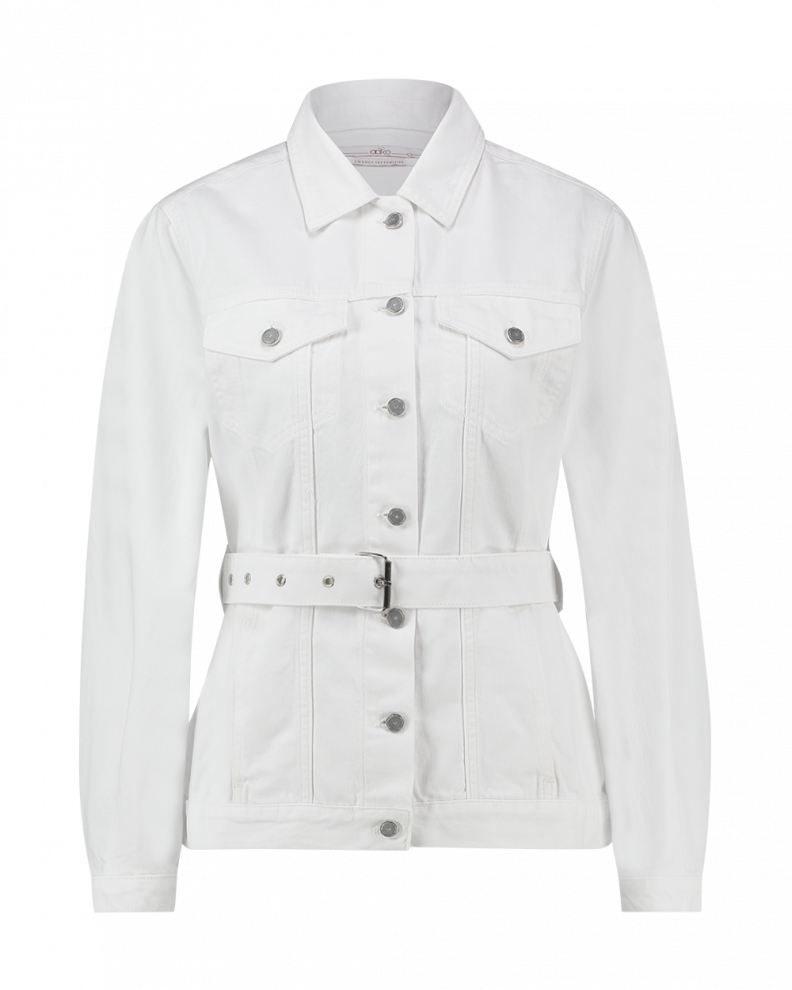 Caily Jacket White