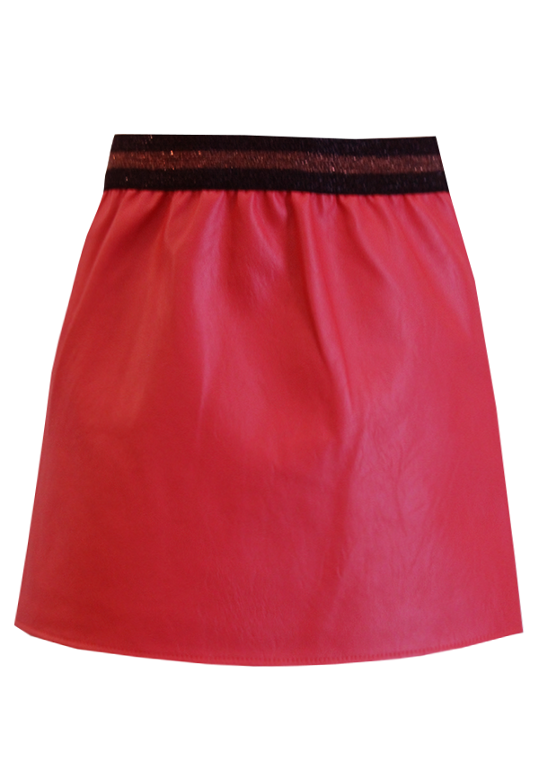 Leyla skirt red