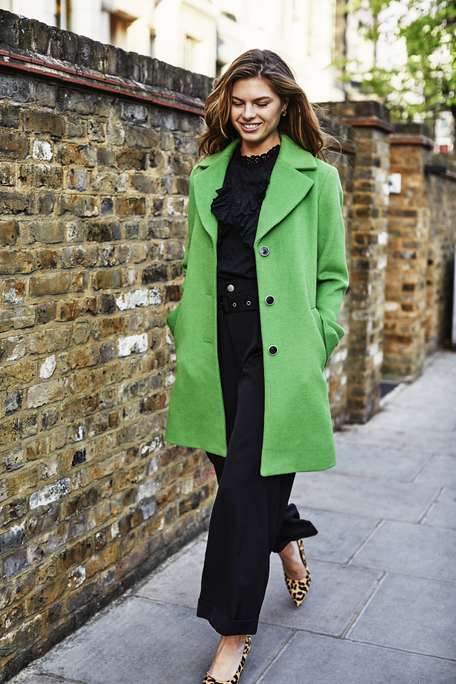 Isko coat green