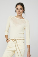 Rive Sweater White