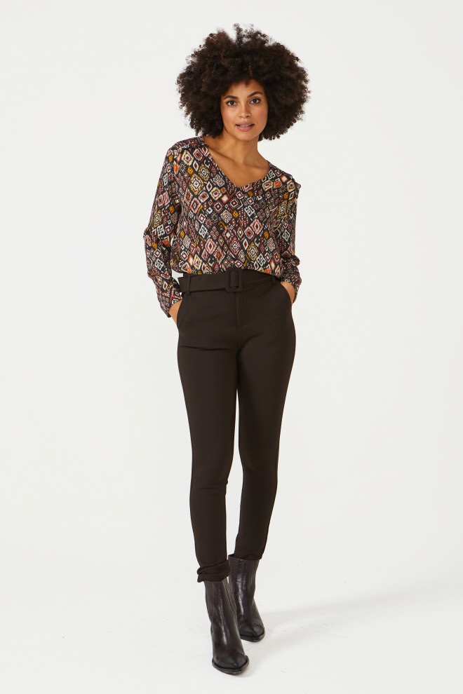 Haily Trousers Brown