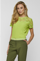 Vemira top lime