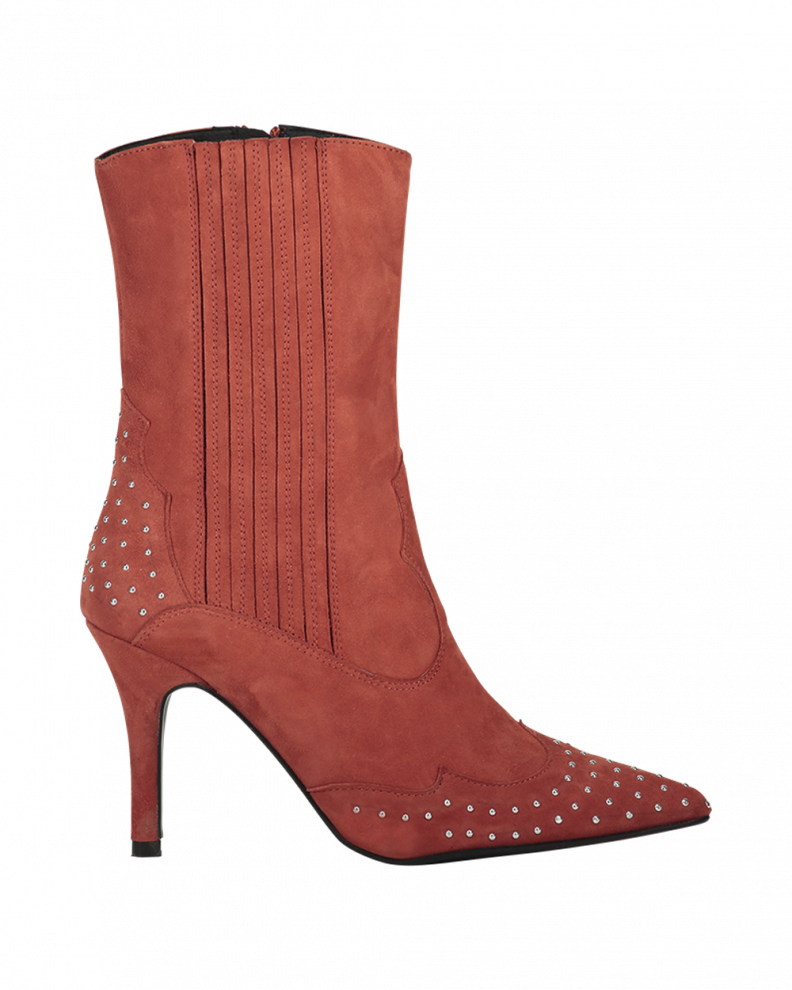 Nancy boots red