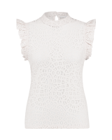 Floria lace top white