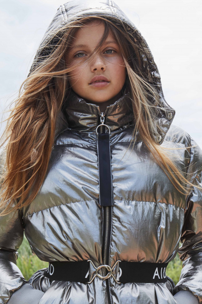 Paisey jacket silver
