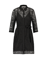 Aima lace dress black