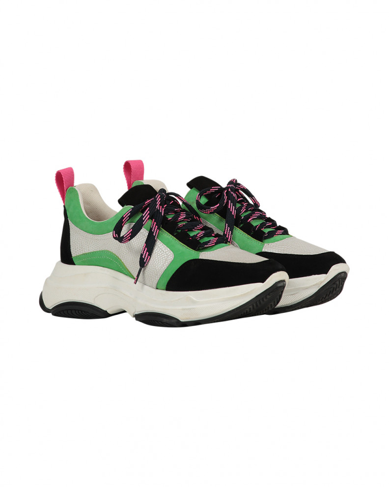 Brooklyn suede shoes green