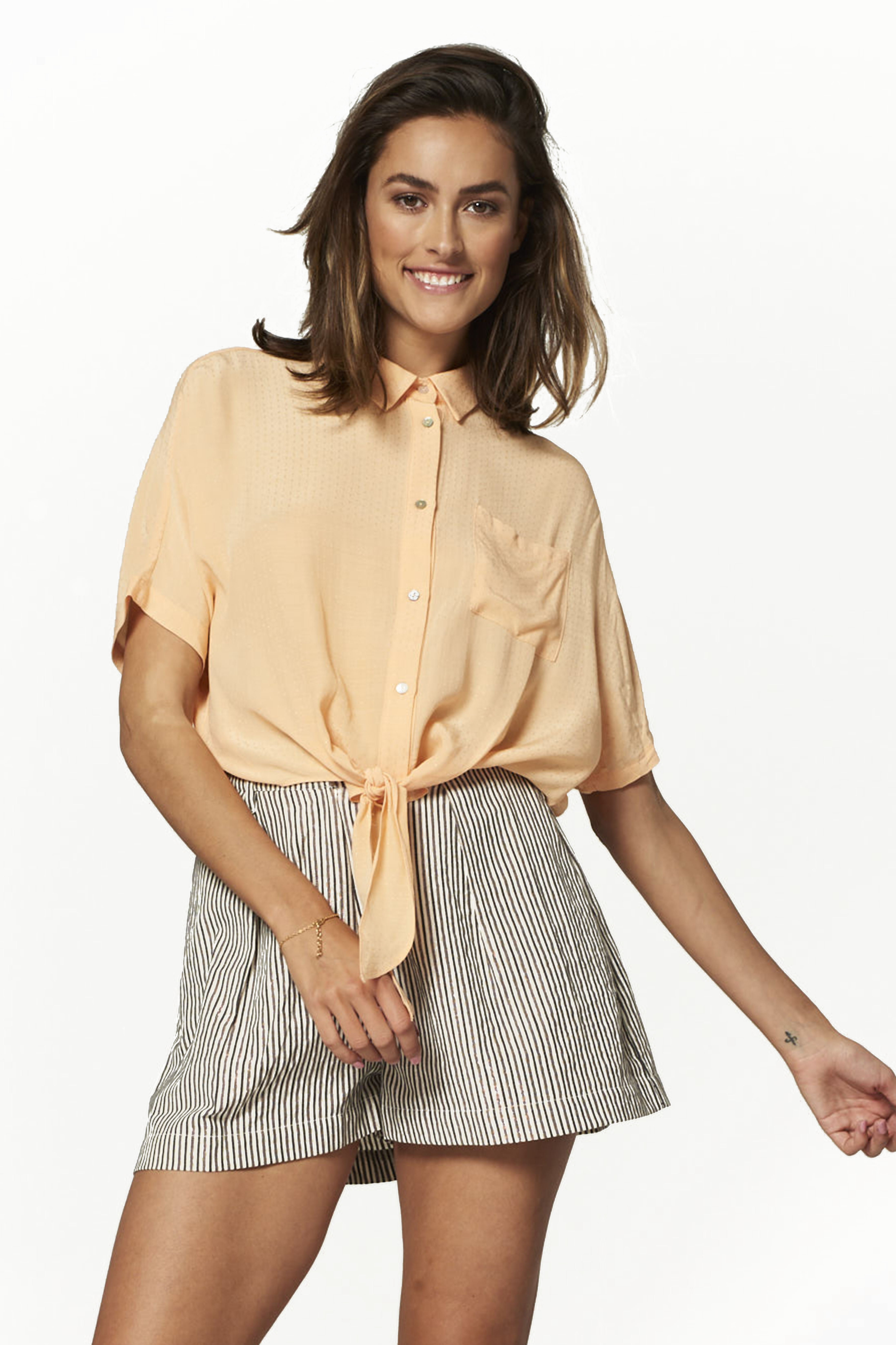 84c5cb92f98b4 Yellow Bow Front Blouse « Alzheimer's Network of Oregon