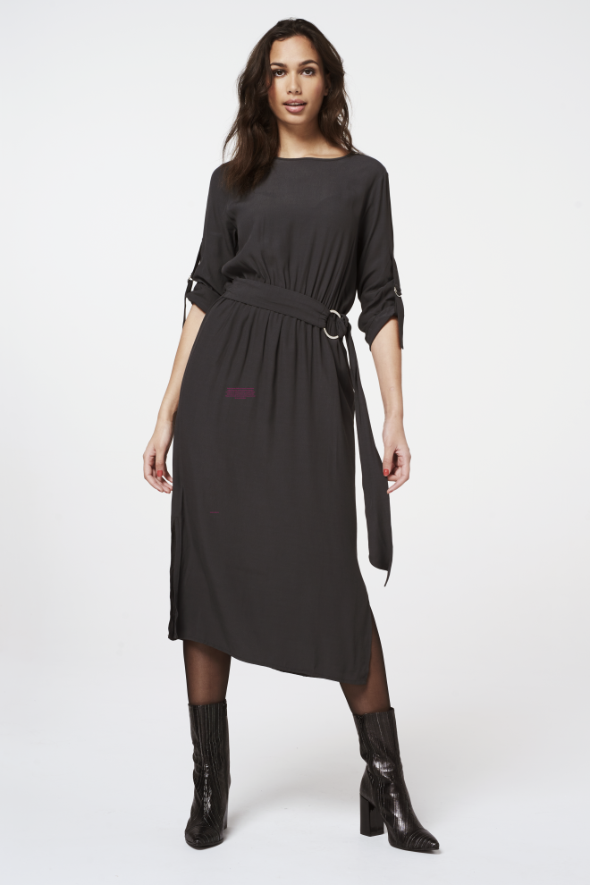 Sessa dress steel grey