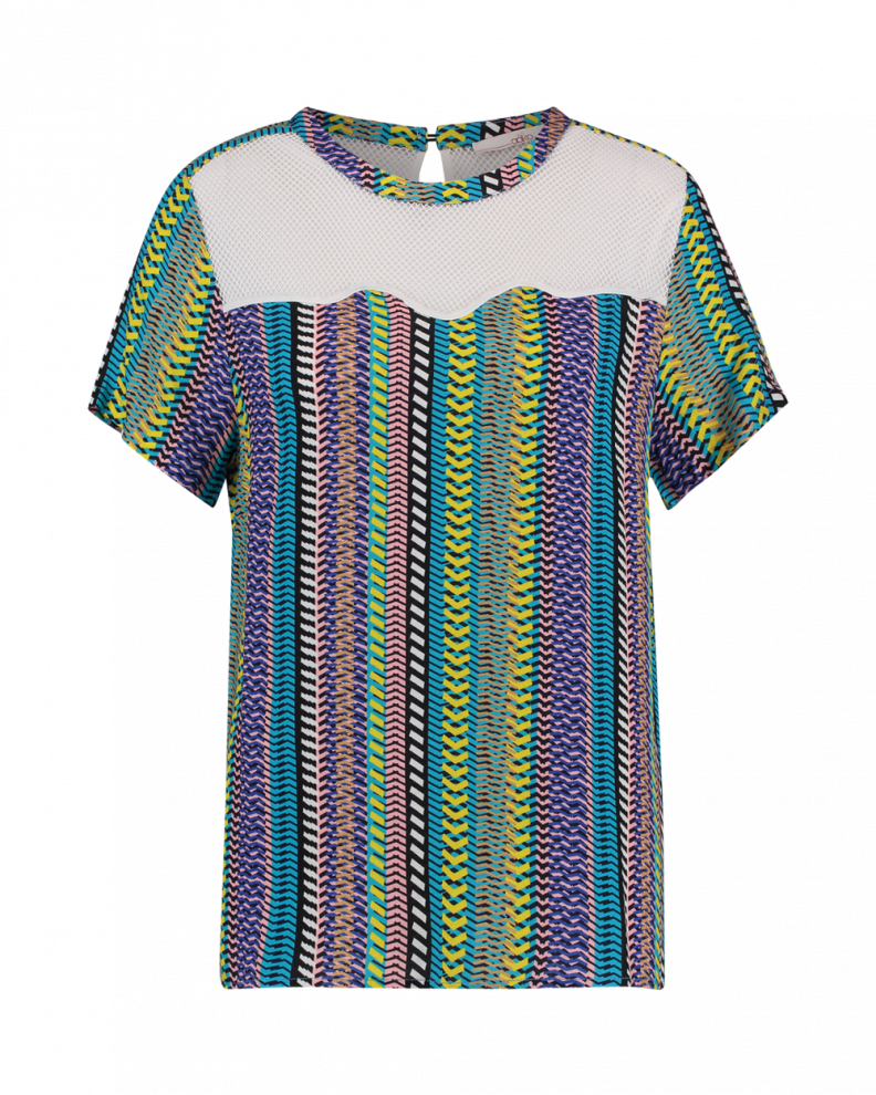 Veren stripe top multi