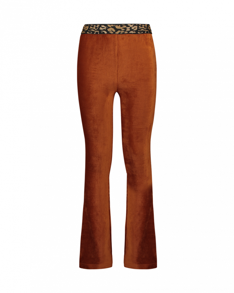 Craig rib trouser orange