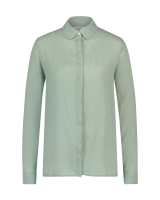 Marta Silk Blouse Green