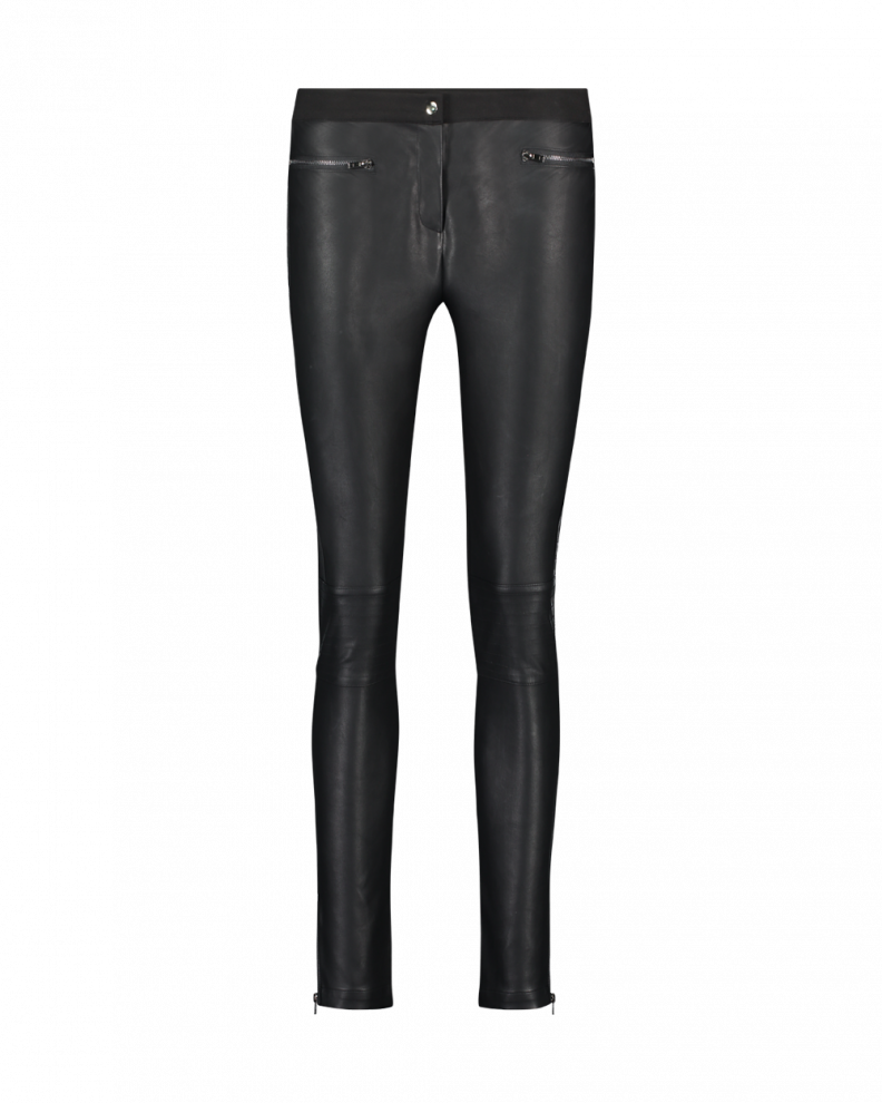 Persy Leather Trousers Black