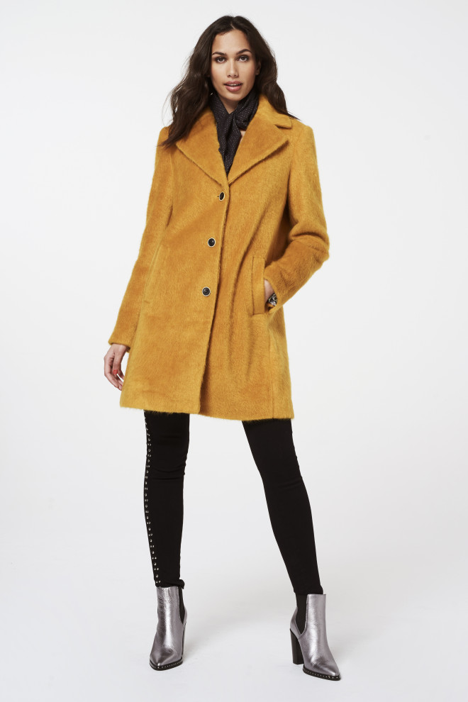 Isko Coat Yellow