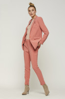 Parien buttons trousers pink