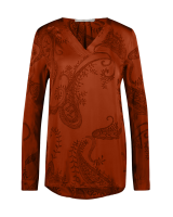 Merida paisley blouse red