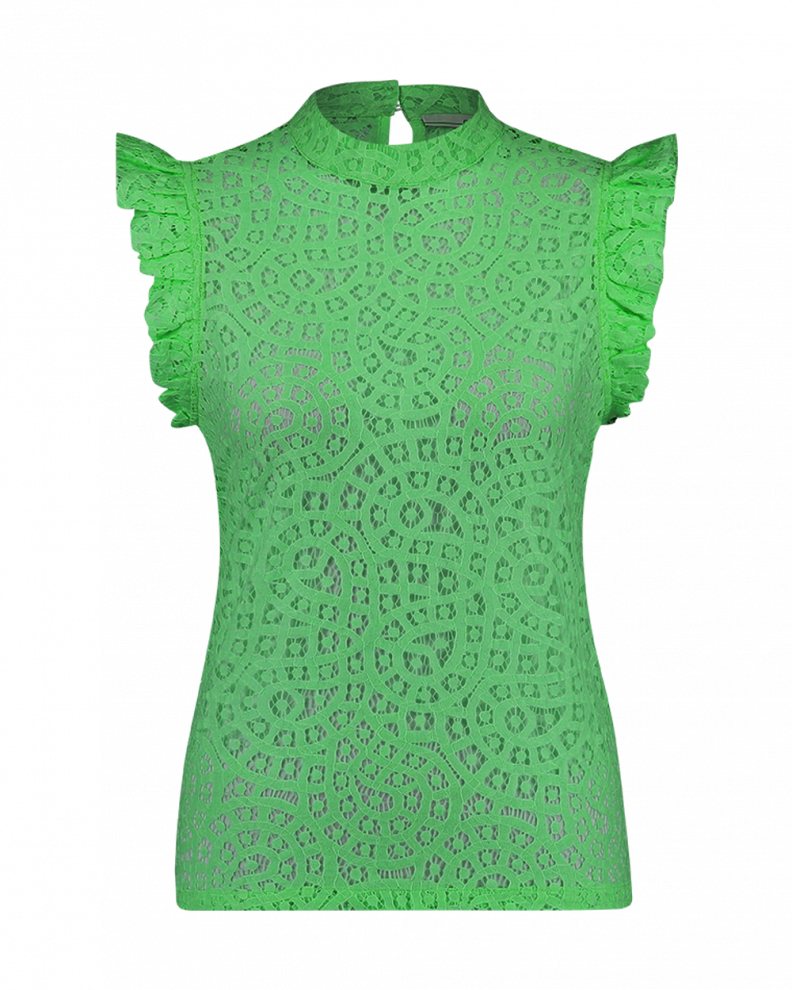 Floria lace top green