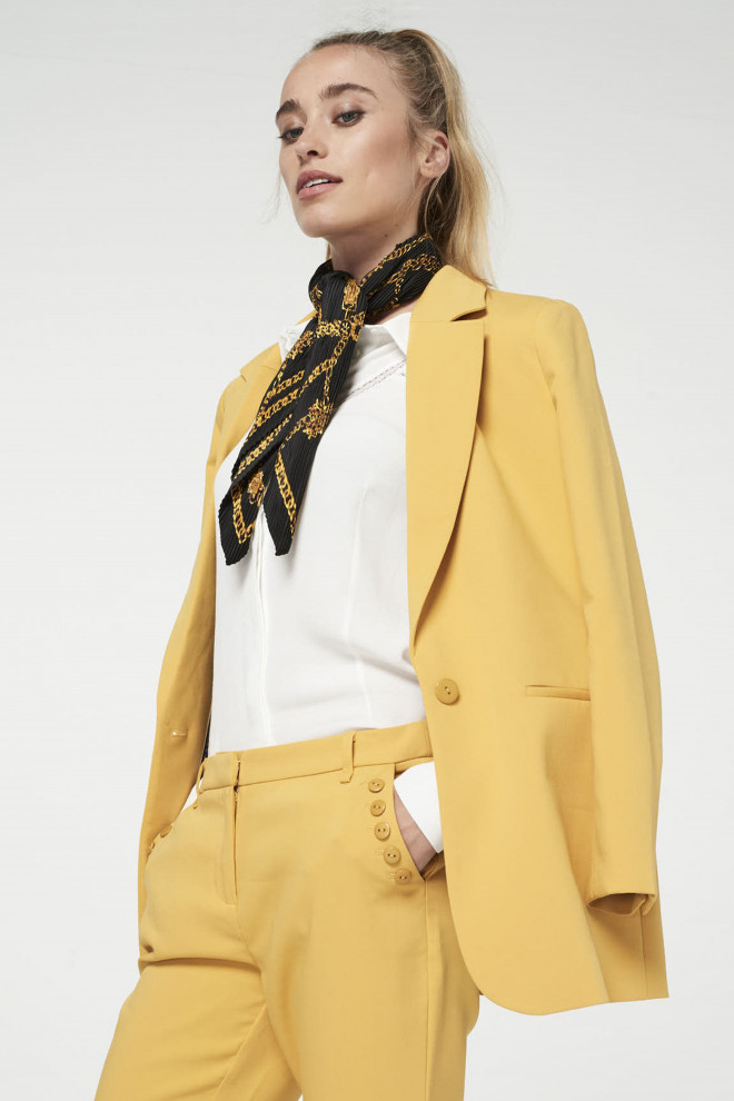 Latina Blazer Yellow