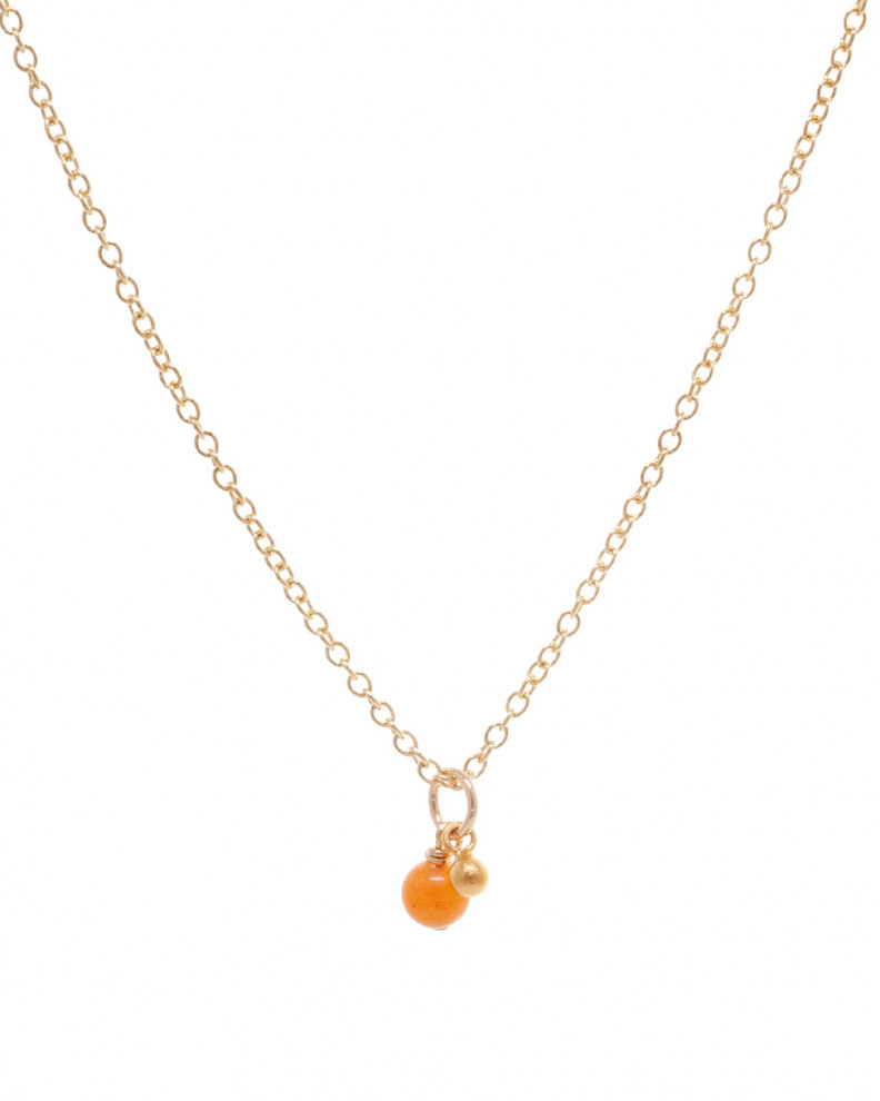 Scent of Love Orange Necklace