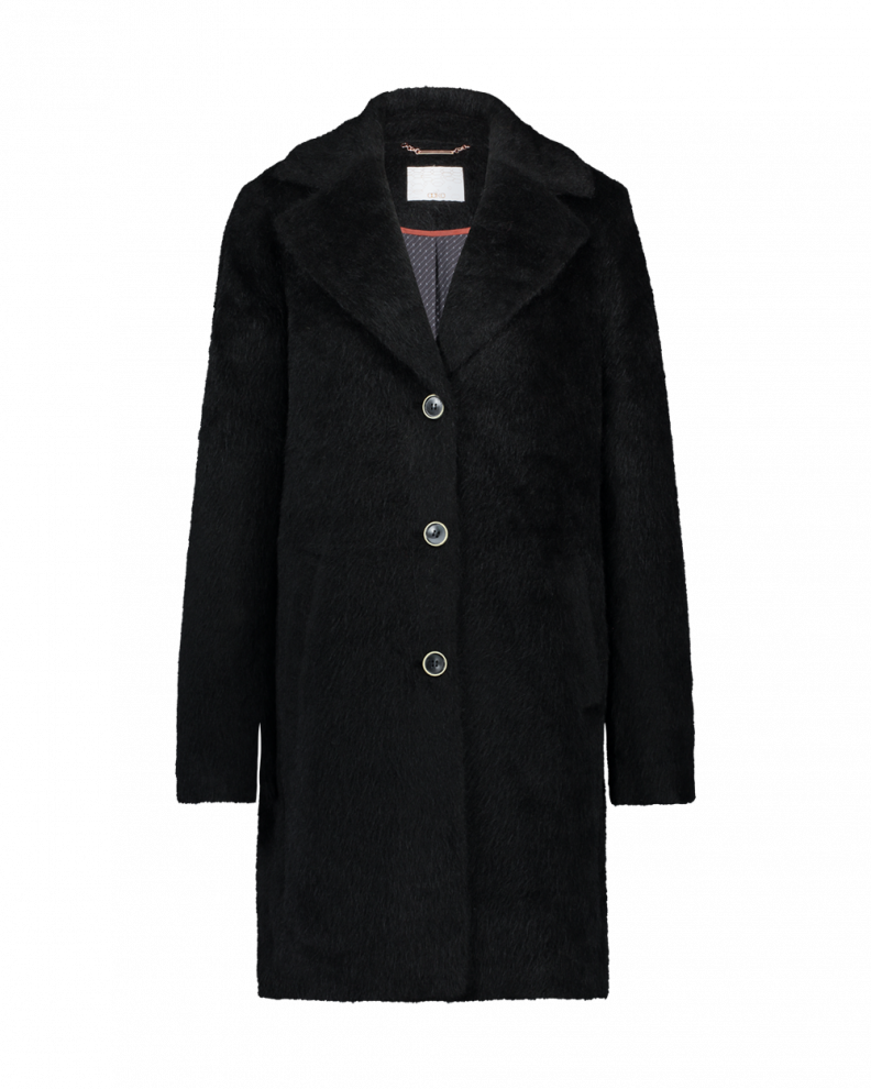 Isko Coat black